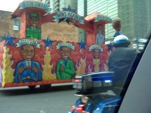 Obama Float Mardi Gras Sin of Pride